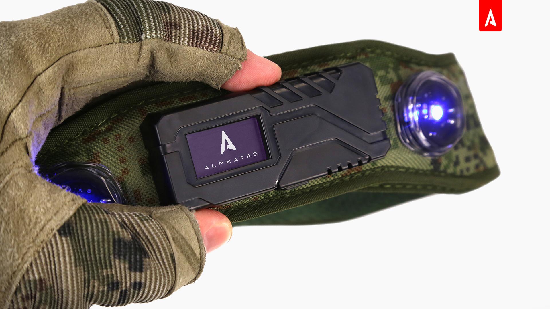 Новый OLED-дисплей в комплектах оборудования «Альфатаг»